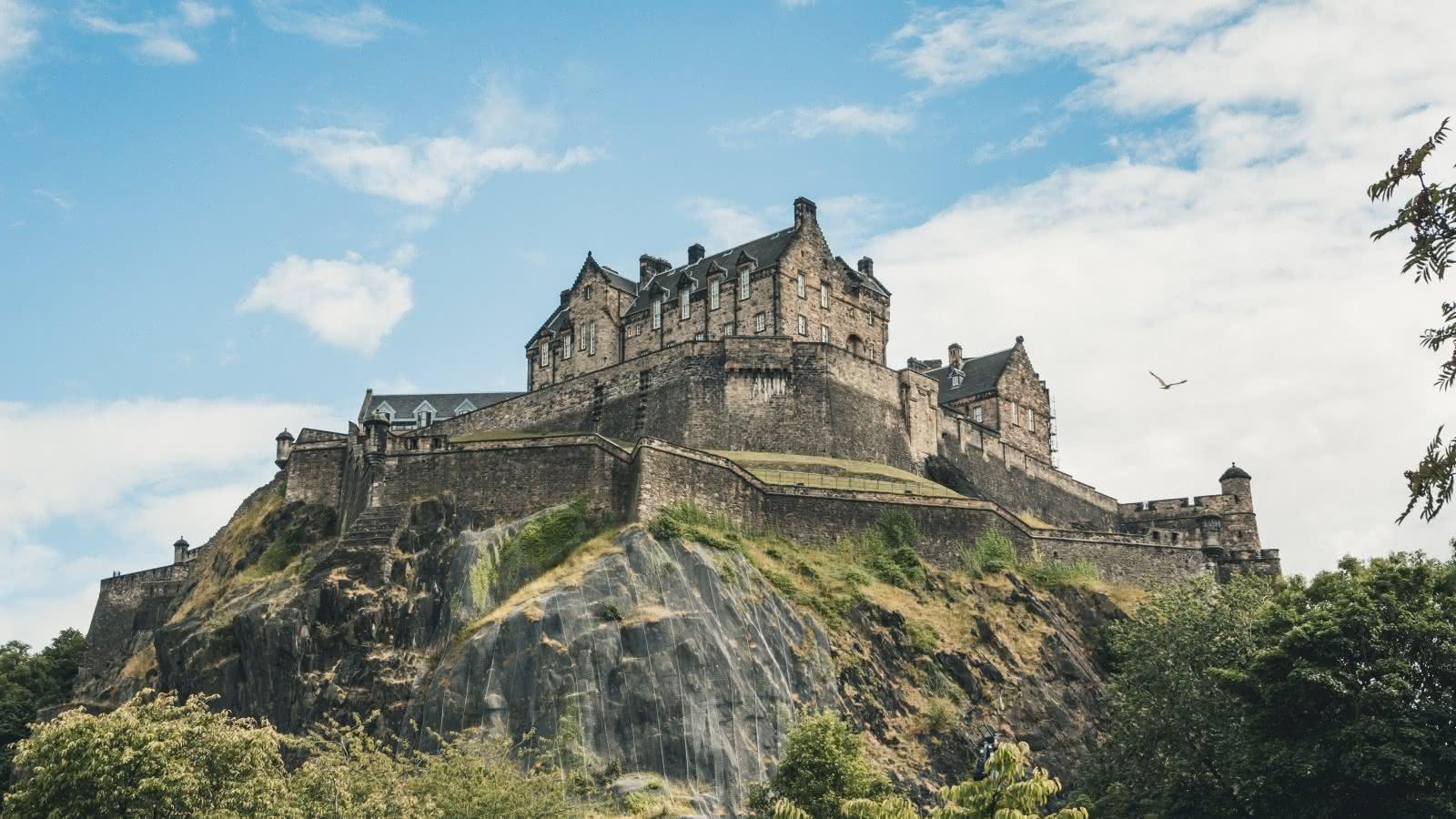 Château sur rocher