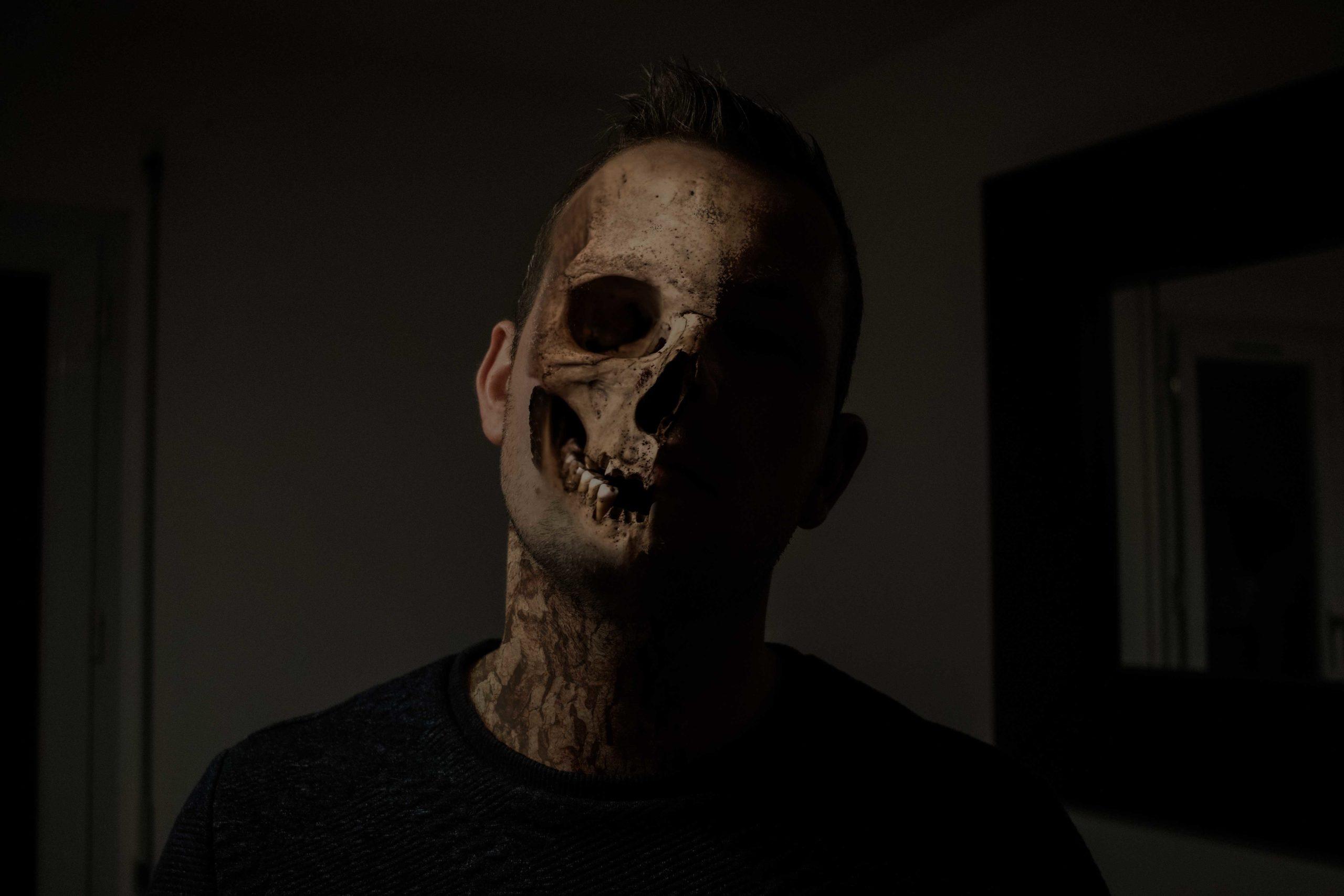 tête de mort homme