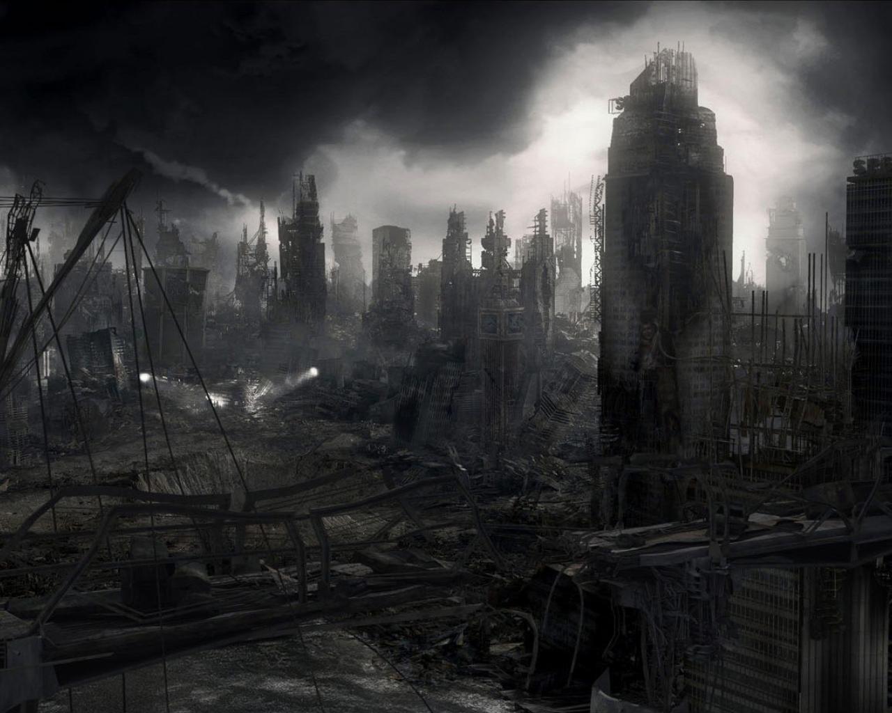 Background City Apocalypse
