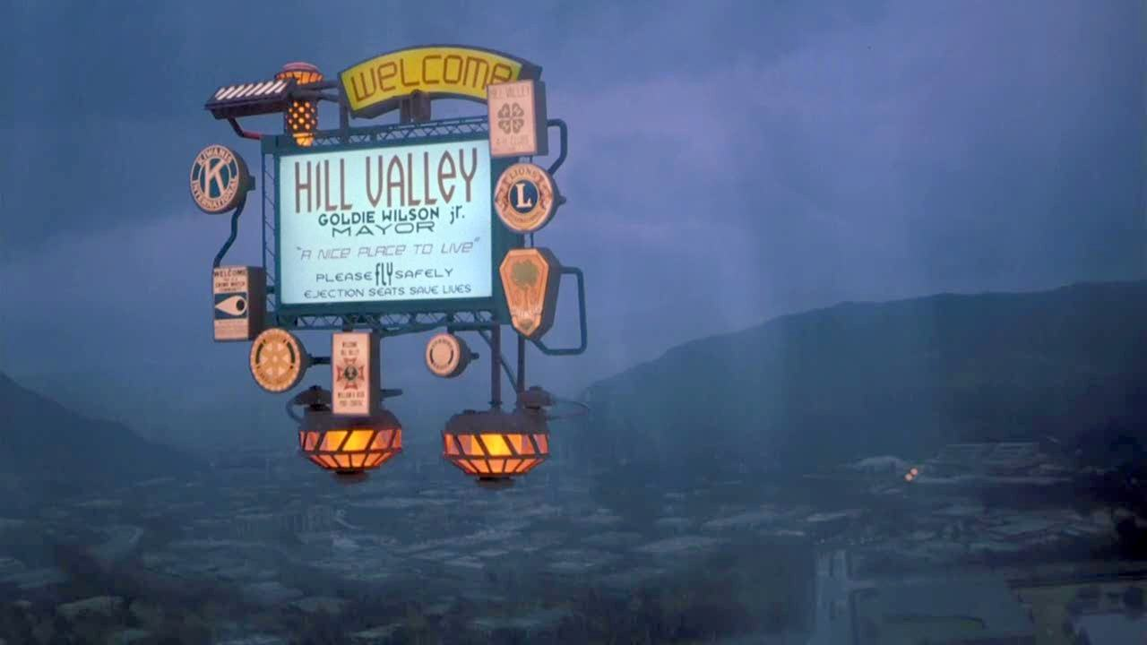 Hill valley home