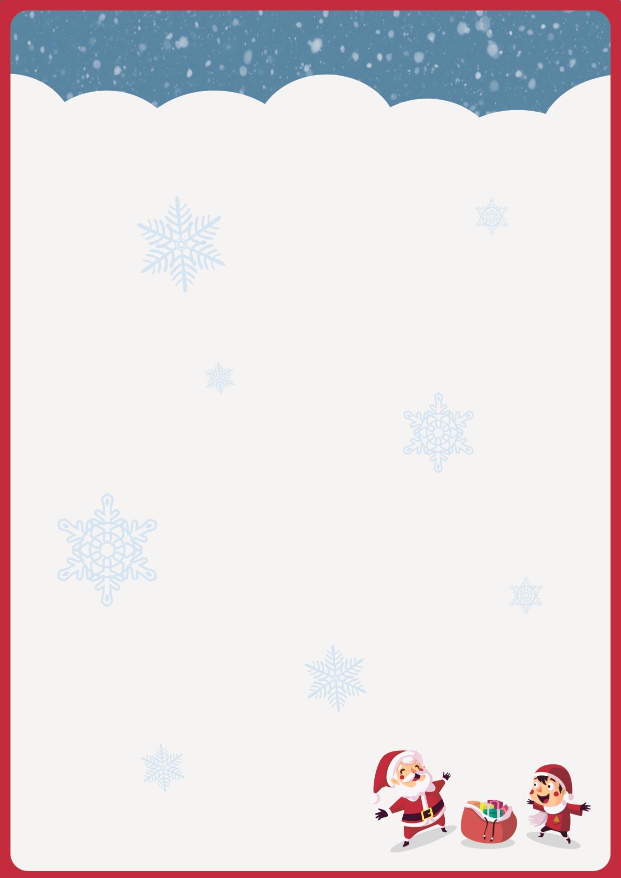 carte de noël pour enfants numéro 1